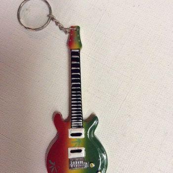 Sleutelhanger - gitaar - Bob Marley