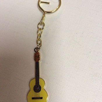 Sleutelhanger - gitaar - klassiek