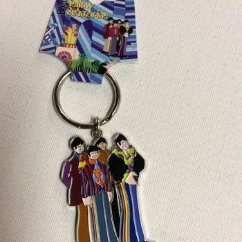 Sleutelhanger - The Beatles - figuren The Yellow Submarine