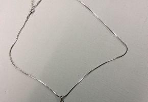 Halsketting - Gitaar rd - Zilverkleurig