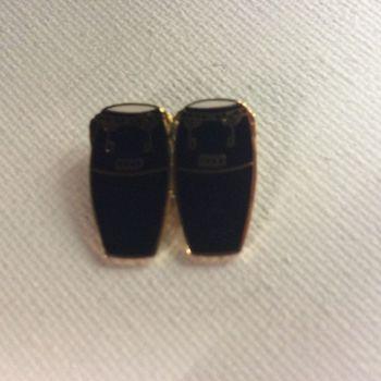 Pin - Conga's - Zwart