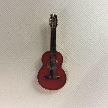 Pin - Klassieke gitaar - rood