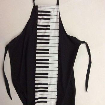 Keukenschort - Klavier