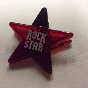 Magneet - Rock Star - Rood