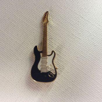 Pin - Stratocaster - zwart
