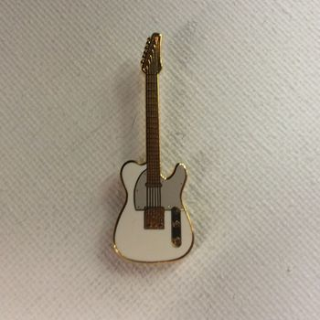 Pin - Telecaster - Wit