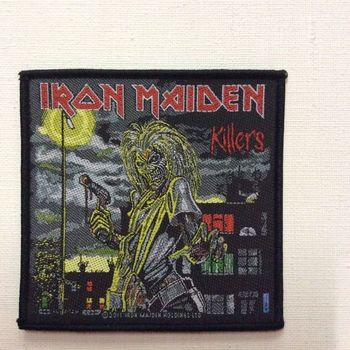 Patch - Iron Maiden - Killers