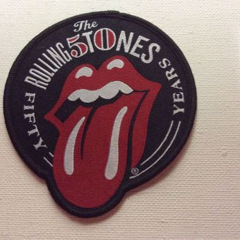 Patch - Rolling Stones - 50 Years