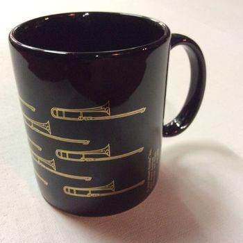 Mug - Trombones - Zwart