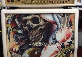 Marshall JVM Custom Tattoo