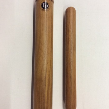 OUTLET - Latin Percussion African clave met stick - 30 cm