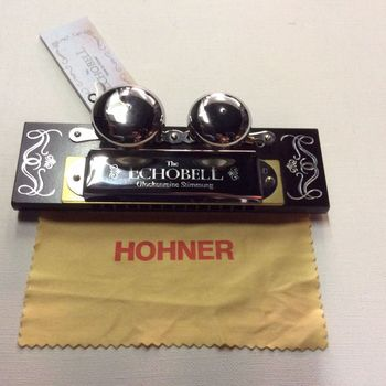 Aanbieding - Mondharmonica Hohner - The Echo Bell