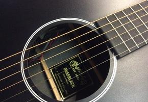 OUTLET - Martin DXAE Black semi akoestische gitaar