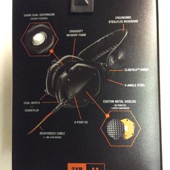 V-Moda Crossfade M100 - Matte Black