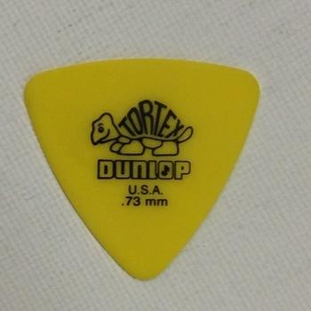 Dunlop - Tortex Triangle - 0,73 mm