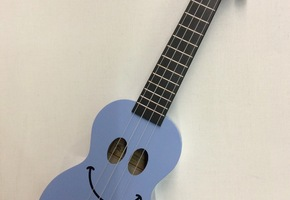 Ukelele - Mahalo smile - blauw