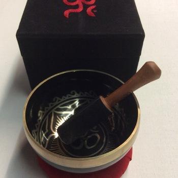 Klankschaal set - 10,5 cm - Rood