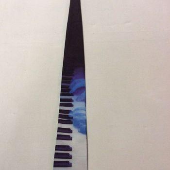 Das - Klavier met handen - Blauw