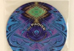 The Pikdisk - 10 plectra - Rood
