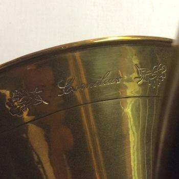 Cornélius jachthoorn met koffer + 2 mondstukken
