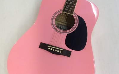 Grimshaw Folkgitaar - Pink
