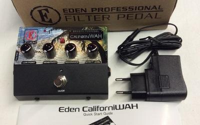 Aanbieding - Eden Californi Wah met adaptor