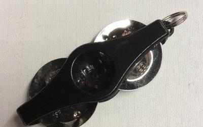 Sleutelhanger - Beatring - Zwart