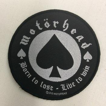 Patch - Mötorhead - Born to Lose