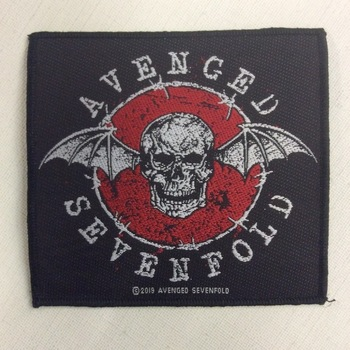 Patch - Avenged Sevenfold - Distressed skull