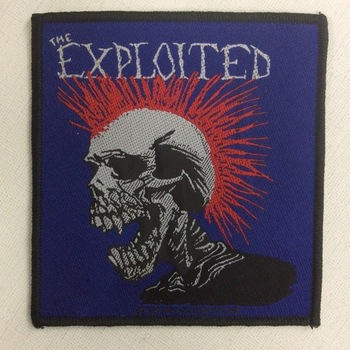 Patch - The Exploited - Mohican Multicolor
