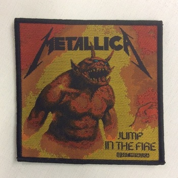 Patch - Metallica - Jump in the Fire