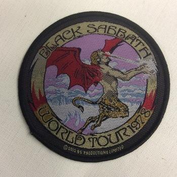 Patch - Black Sabbath - World Tour 1978