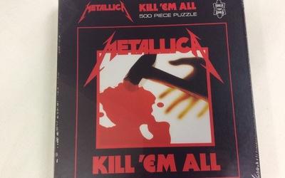 Puzzel - Metallica - Kill em all