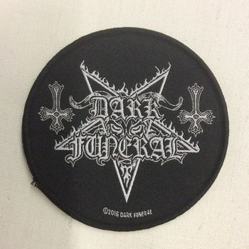 Patch - Dark Funeral - Circular Logo