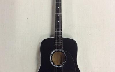 Miniatuurgitaar - Black Acoustic
