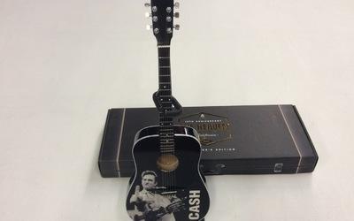 Miniatuurgitaar - Johnny Cash