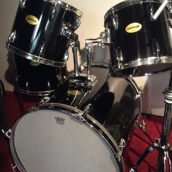 Vintage Capelle Drumstel met Turbo basdrum