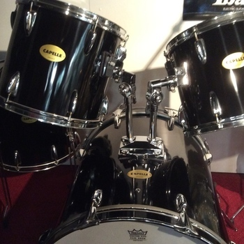 OUTLET - Vintage Capelle Drumstel met Turbo basdrum
