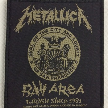 Patch - Metallica - Bay Area Trash