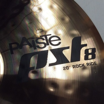 "OUTLET - Paiste PST8 Rock Ride 20"""