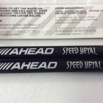 OUTLET - Ahead Speed Metal drumstokken met alu-kern