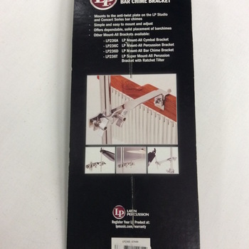 OUTLET - Latin Percussion Bar Chime Bracket