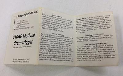 OUTLET - Drum Trigger Set - Perfect Trigger Inc.